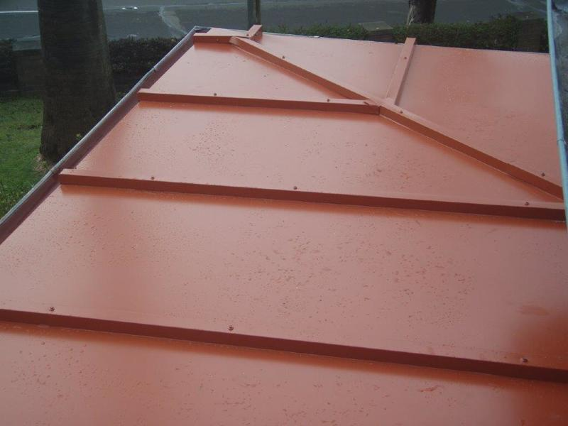 TP Roofing - Small custom made Colorbond roof