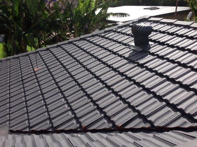 TP Roofing - Terracotta roof replacement and whirlybird install
